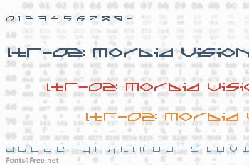 LTR-02: Morbid Vision Font
