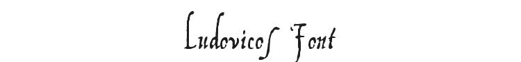 Ludovicos Font