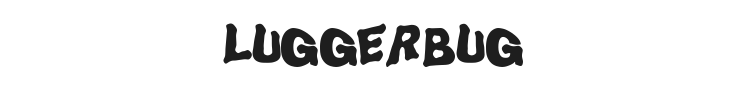 LuggerBug Font Preview
