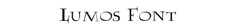 Lumos Font Preview