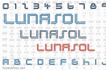 Lunasol Font