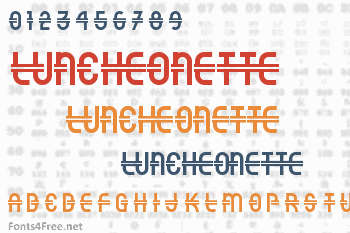 Luncheonette Font