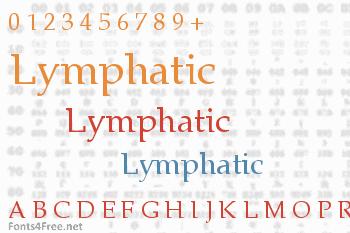 Lymphatic Font