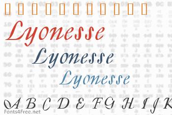 Lyonesse Font