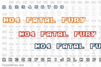 M04 Fatal Fury Font