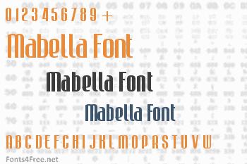 Mabella Font