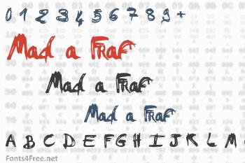 Mad a Fraf Font