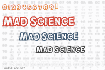 Mad Science Font
