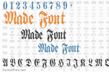 Made Font