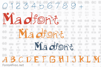 Madfont Font