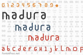 Madura Font