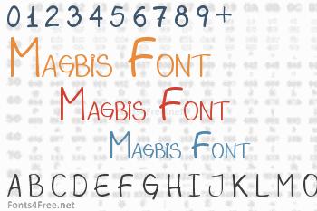 Magbis Font
