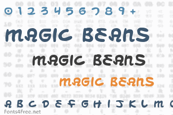 Magic Beans Font