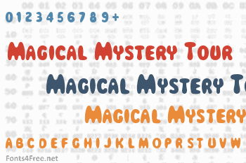 Magical Mystery Tour Font