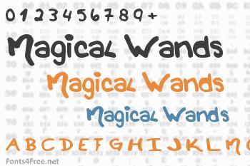 Magical Wands Font