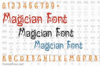 Magician Font