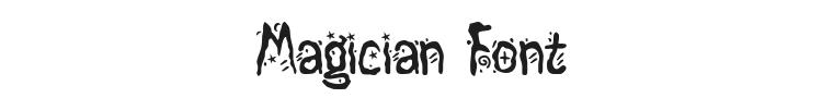 Magician Font Preview