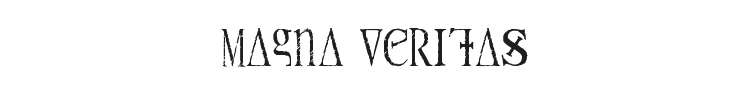 Magna Veritas Font Preview