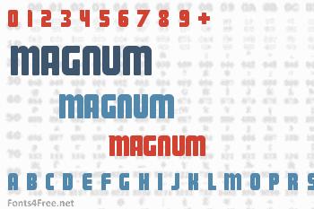 Magnum Font