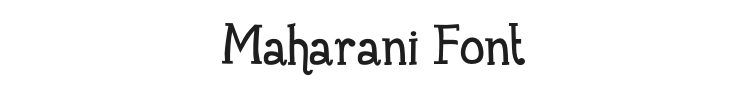 Maharani Font