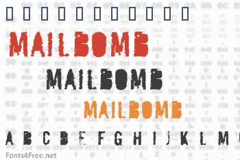 Mailbomb Font