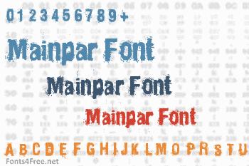 Mainpar Font