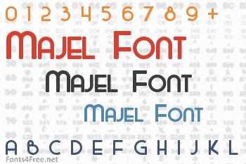 Majel Font