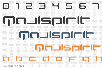 Majispirit Font