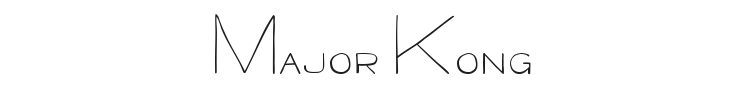Major Kong Font