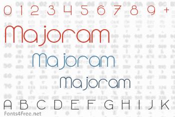 Majoram Font