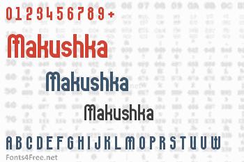 Makushka Font