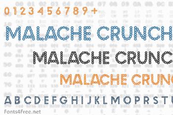 Malache Crunch Font