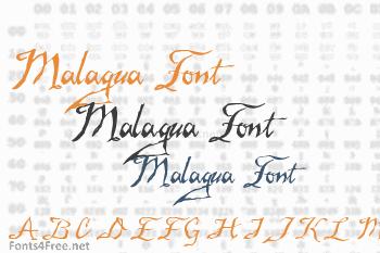 Malagua Font