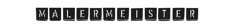 Malermeister Font