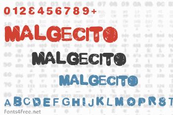 Malgecito Font