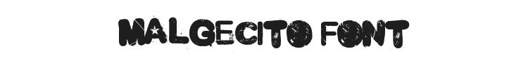 Malgecito Font Preview