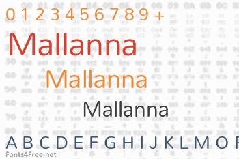 Mallanna Font