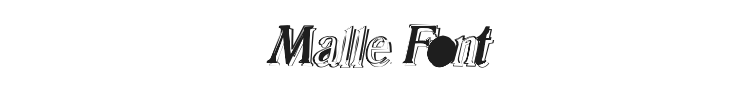 Malle Font Preview
