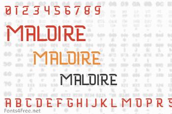 Maloire Font