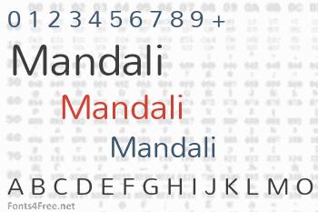 Mandali Font