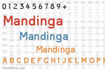 Mandinga Font