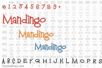 Mandingo Font