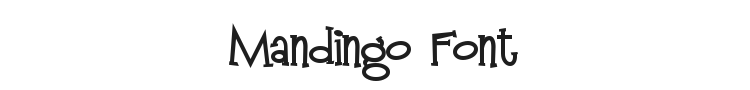 Mandingo Font Preview
