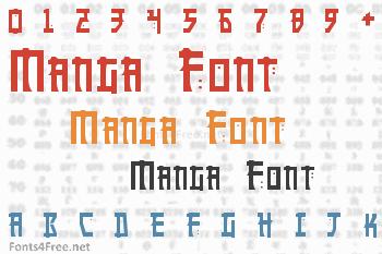 Manga Font