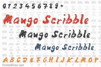 Mango Scribble Font