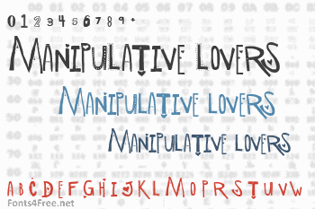 Manipulative Lovers Font