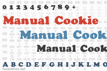 Manual Cookie Bucket Font
