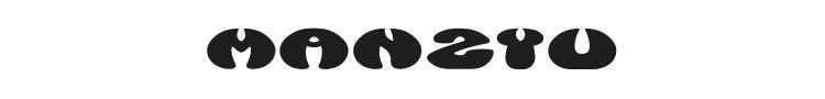 Manzyu Font