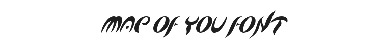 Map Of You Font