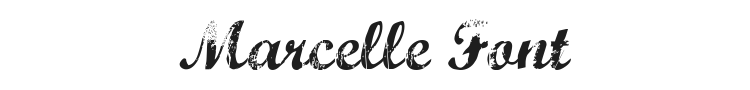 Marcelle Font Preview